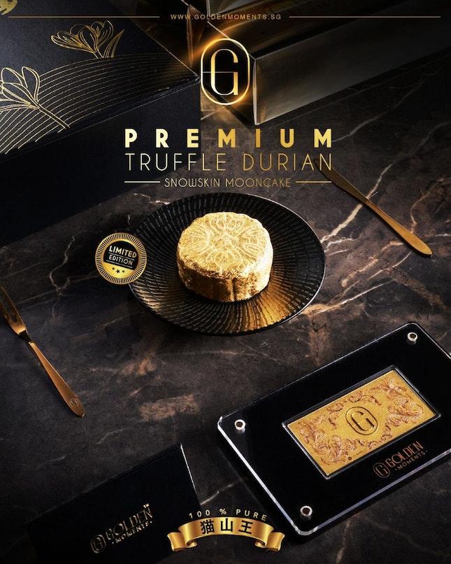Golden Moments launches 24K Truffle Mao Shan Wang Snowskin Mooncake