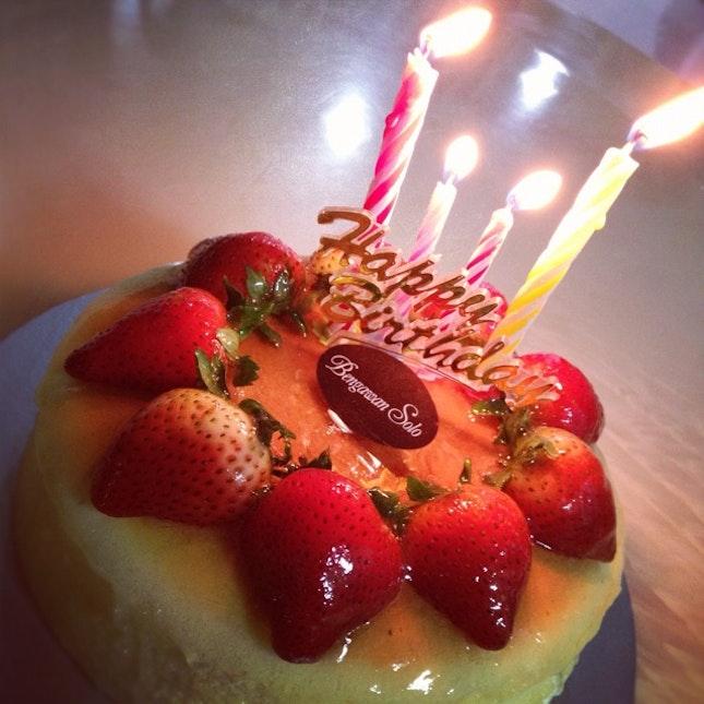 My 22nd Birthday Cake Strawberry Cheesecake D