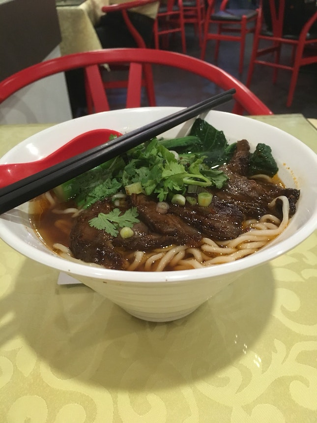 Braised Beef Noodle