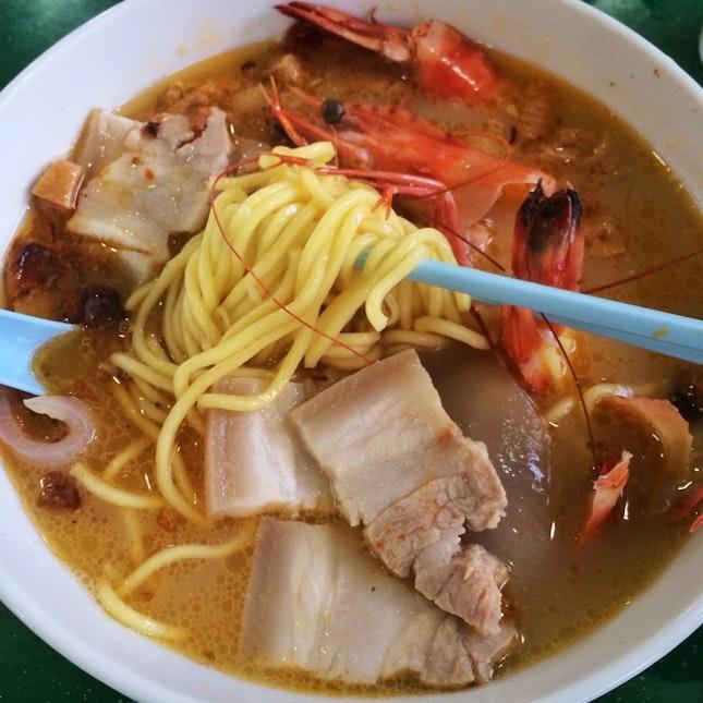 Big Prawn & Pork Belly Soup Noodle