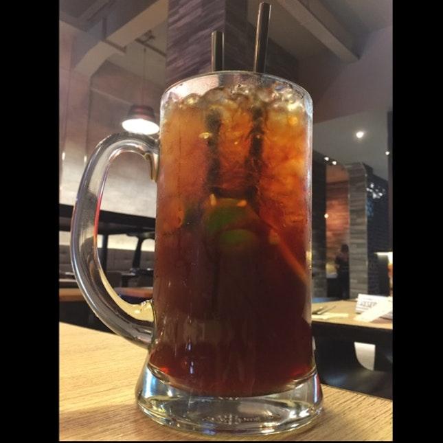 Mega Large Es Tea Limau (Ice Lemon Tea)