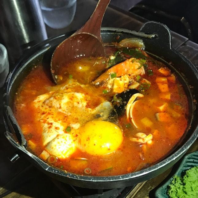 Toufu Seafood Soup