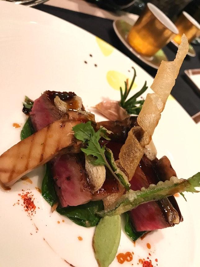 """Le Bœuf """"Kagoshima"""" grillé"""
