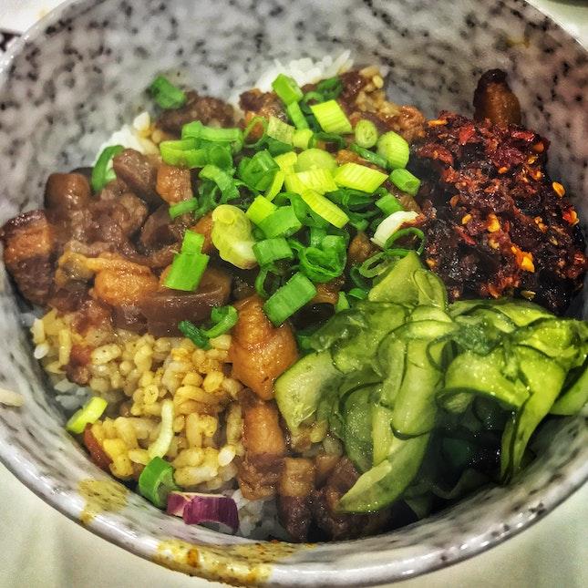 滷肉飯 Lor Bak Png (Soy Braised Pork Rice)