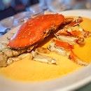 黃酒蒸蟹 Steamed Australian Crab In Chinese Wine and Egg White