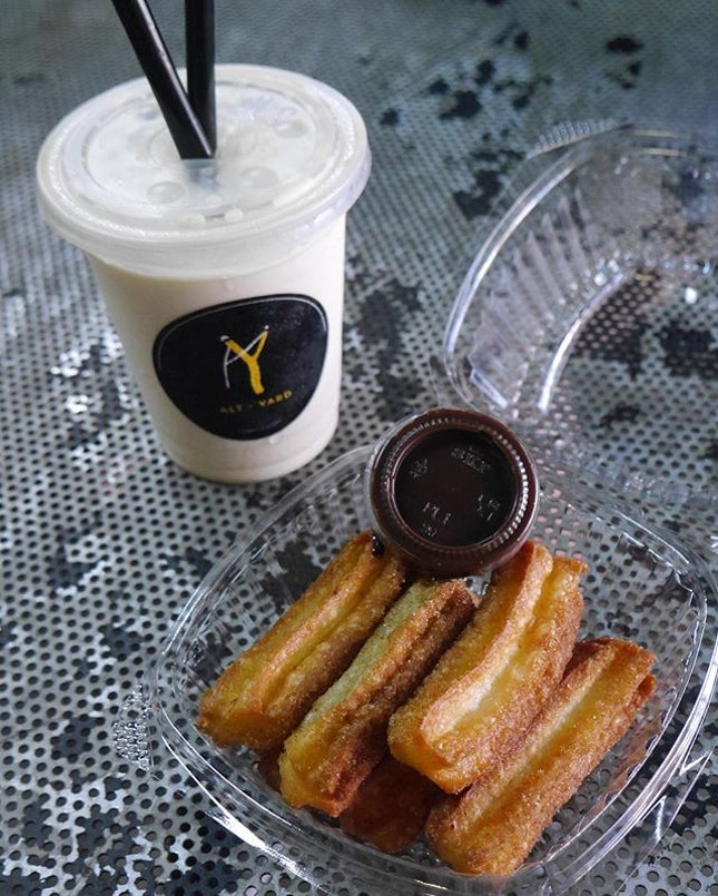 Missing the churros from @altyard !