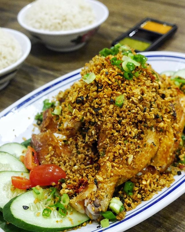 Colonial Club Chicken Rice - $23.80 😍  Garlic lovers!!!