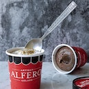 Alfero Gelato's BRAND NEW SORBETS of their popular signature classic flavours: • Dark Chocolate Sorbet (GMO-free ingredients and 70% cacao from France) • Hazelnut Sorbet (hazelnuts from Italy)  Alfero Gelato is made using only the finest quality ingredients imported from Italy and other parts of Europe.