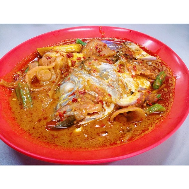 Fish Head Curry For Supper