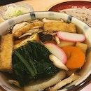 New year Ozoni soba 🍜 huge bowl of soup with fishcake, chicken, rice cake, sweet potato, taro, carrot, white radish and spinach 💕