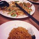 Yummy phad thai spotted here #phadthai #thailand #food #singapore #iphone4 #instagram