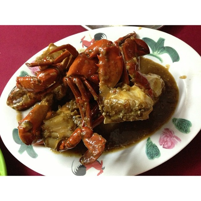 Crabby meal!