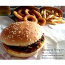 the rendang burger is back~ but it doesn't taste the same 😔