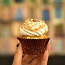 Salted Caramel Cupcake.