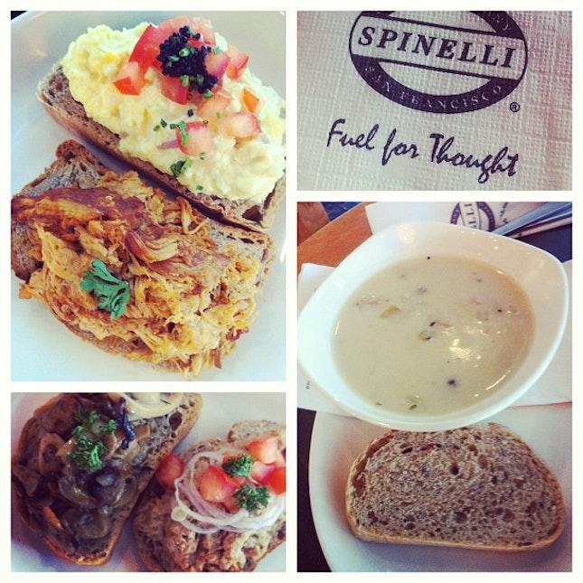 Lunch @ Spinelli #latergram