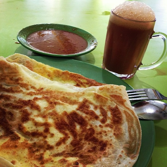Roti Prata & Teh Tarik; oh how I've missed you!