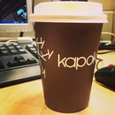 Cafe Kapok, the new kid on the block.