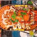 Jiu Gong Ge Seafood Hotpot For 4 ($118)