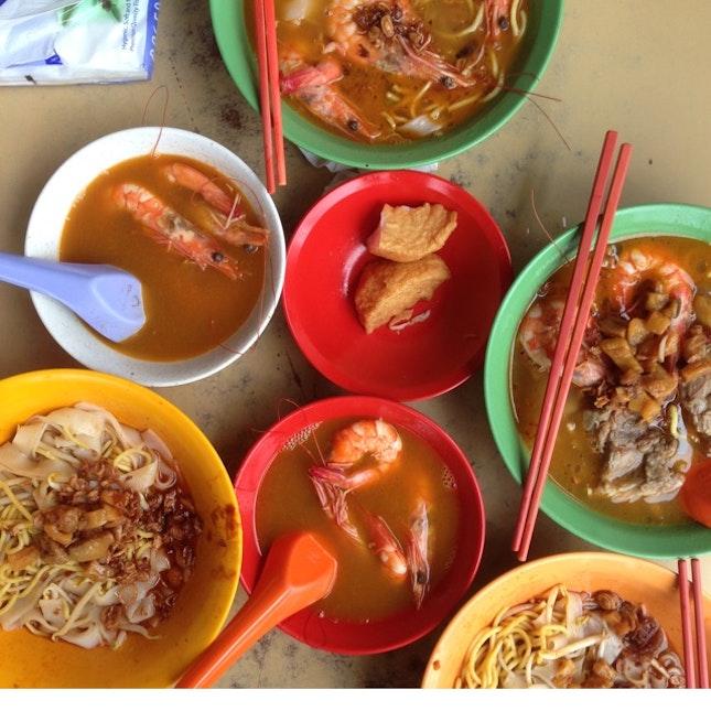 Prawn Noodles (Hae Mee)