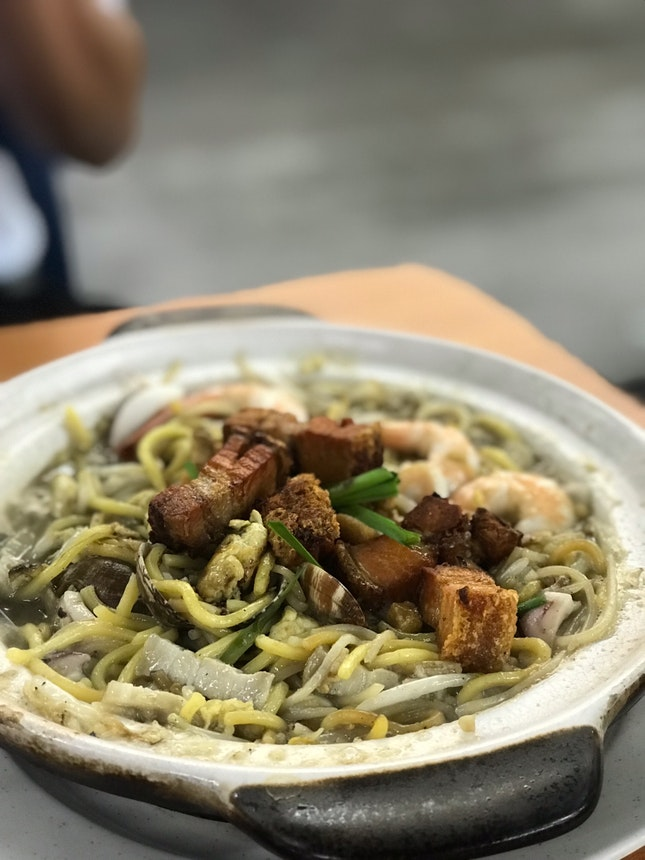 Claypot Hokkien Mee ($10 For 2 Pax Portion)
