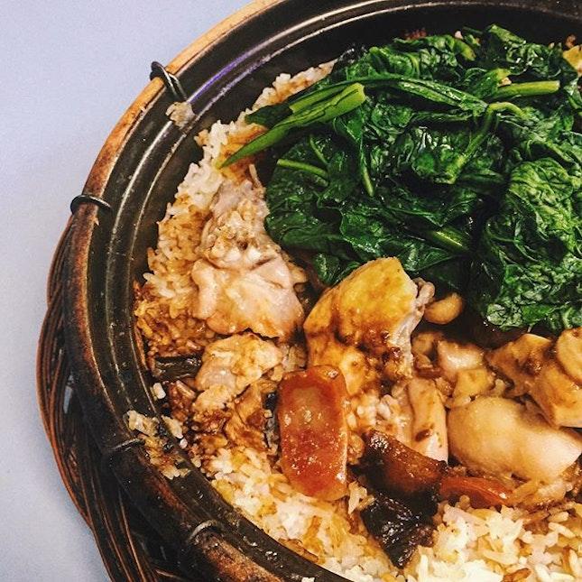 SatDin: #LianHeBenJi Claypot Rice w.