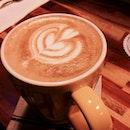 Passion fruit latté 💜