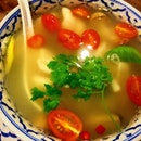 Tom Yam Clear Seafood Soup