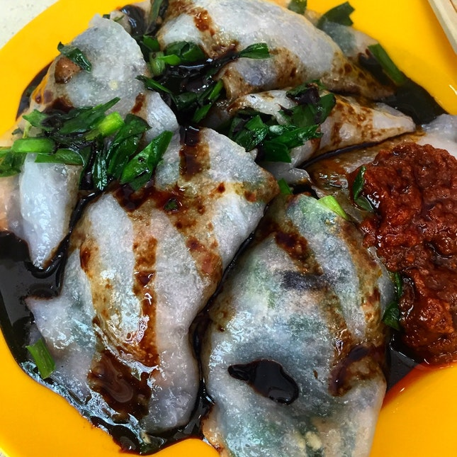 Chives Kueh