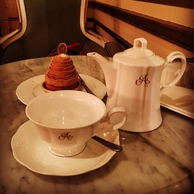 Enjoy Tea Time Alone