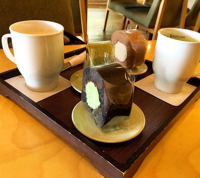 Green Tea And Dessert