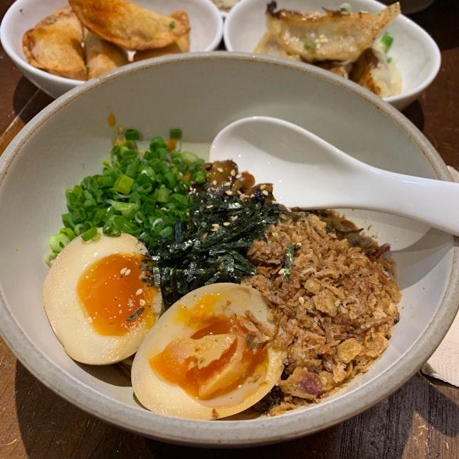 Miso Mushroom Noodles