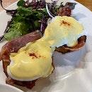 Parma Ham Egg Benedict
