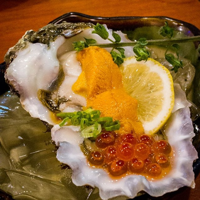 Oysters are known for their aphrodisiac qualities, but who needs a lover when you have this?