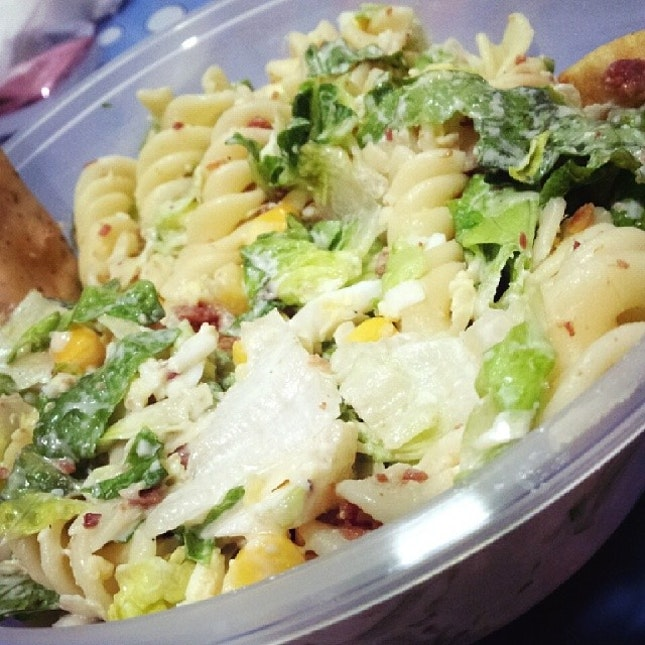 My favourite Caesar Salad from Saladstop!