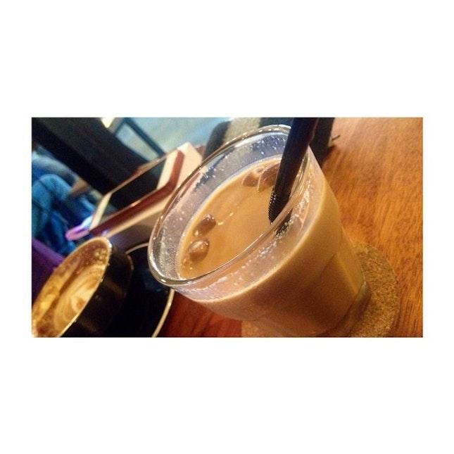 """Beam Signature Ice Coffee"" 😎👍👍👍 @beamspecialty #beamspecialty #coffee #signature #chill #addiction #again"