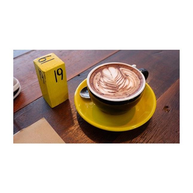 @butterandbeans #butterandbeans #mocha #coffee