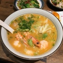 Le Signature Trio Shrimp Ramen