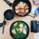 Yong Tau Foo Soup with Dang Hoon ($3.90)