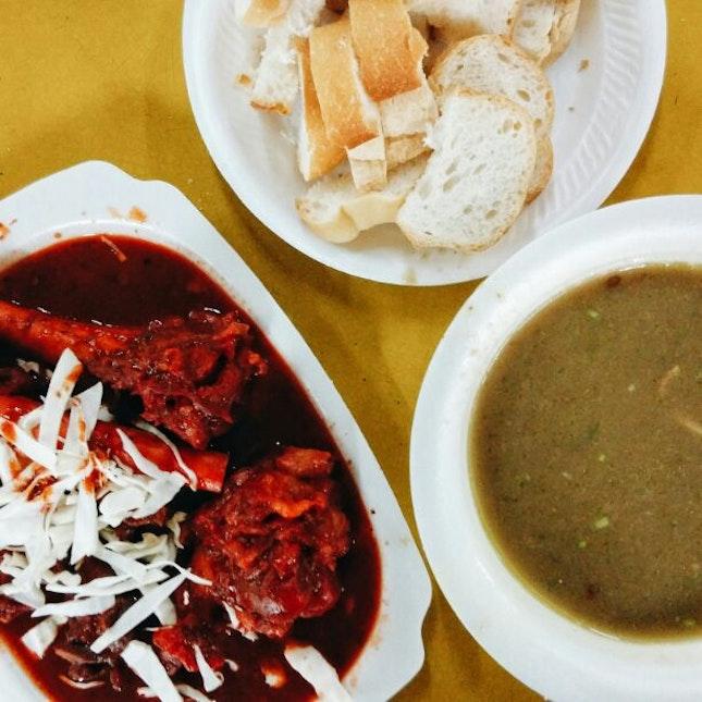 Kambing Soup + Tulang