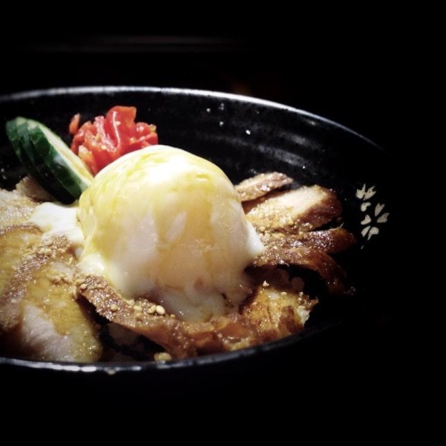 Pork Cheek Rice Bowl