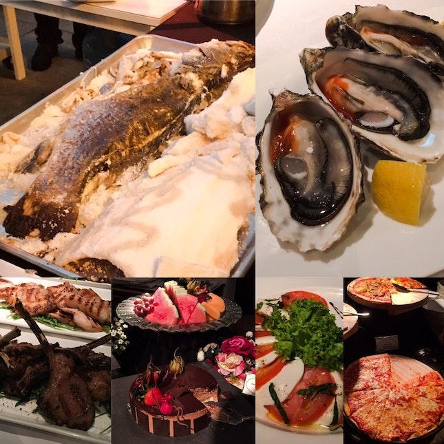 Italian Gourmet Buffet @ Alkaff Mansion Ristorante