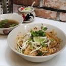 Pork Tom Yum Noodle Dry