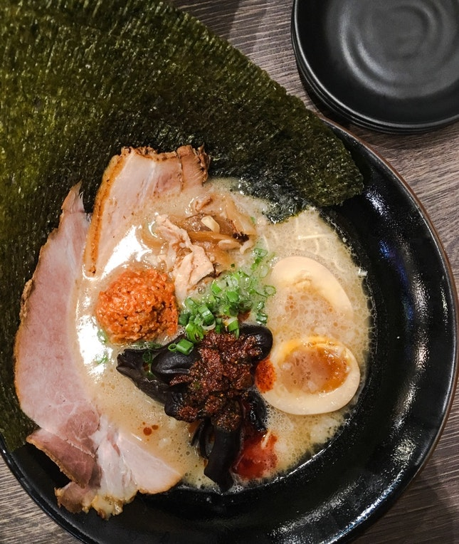 Spicy Tonkotsu All Topping