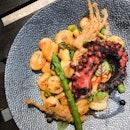 Grilled Octopus Gnocchi