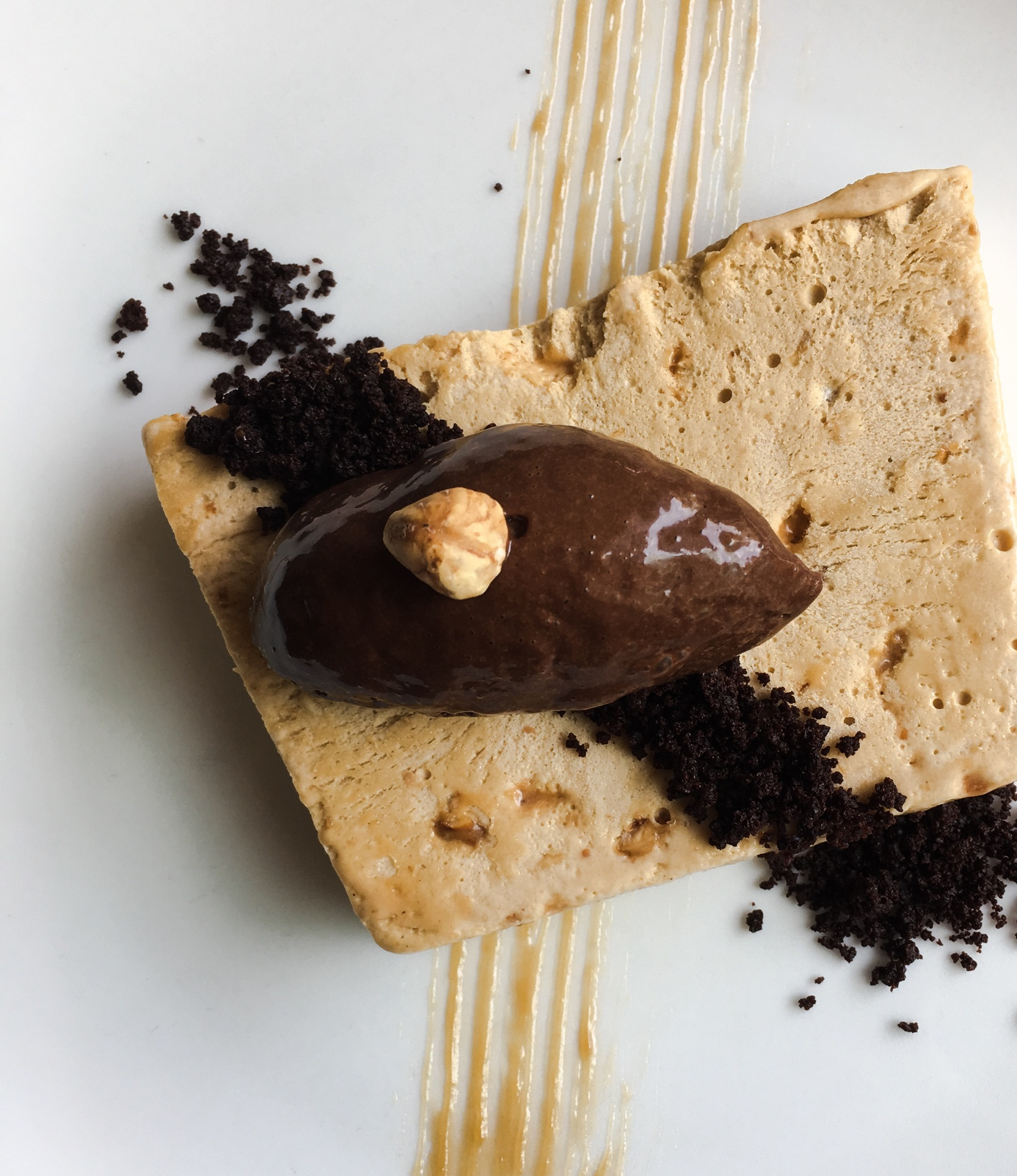 Hazelnut Chocolate Semifreddo