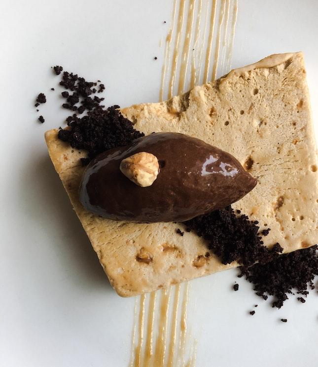 Hazelnut Chocolate Semifreddo