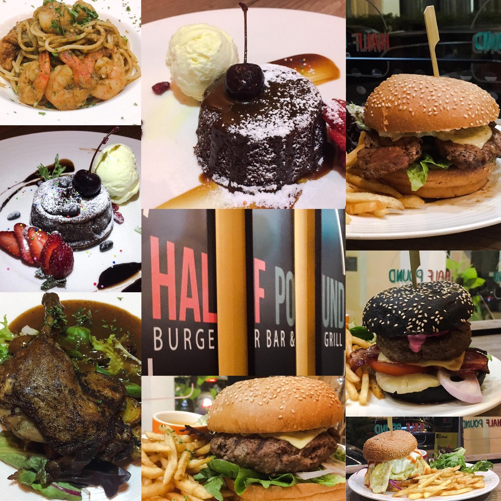 Burpple Tastemaker Eatup at Half Pound Burger Bar & Grill