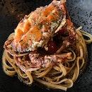 Soft Shell Crab Aglio Olio