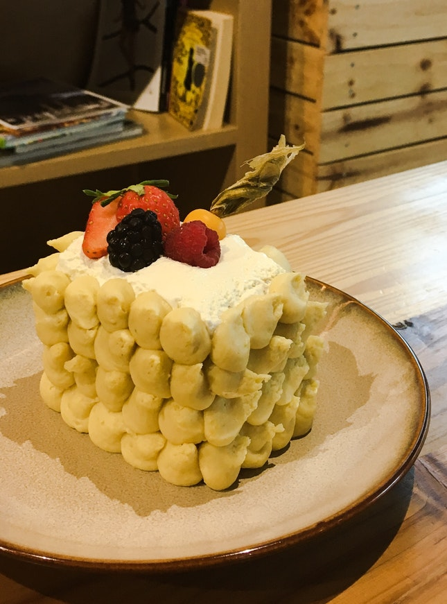 Durian Fudge Cake