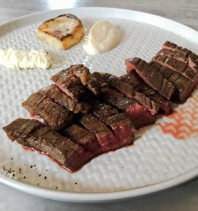 Grilled AUS Angus Flank Steak (200g)